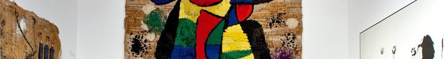 Joan Miró : Tapisserie de la Fondation