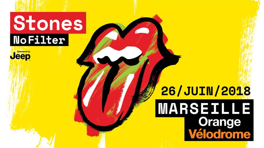 Rolling Stones à Marseille 2018