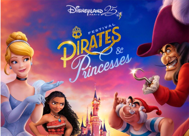 Pirates et Princesses à Disneyland Paris