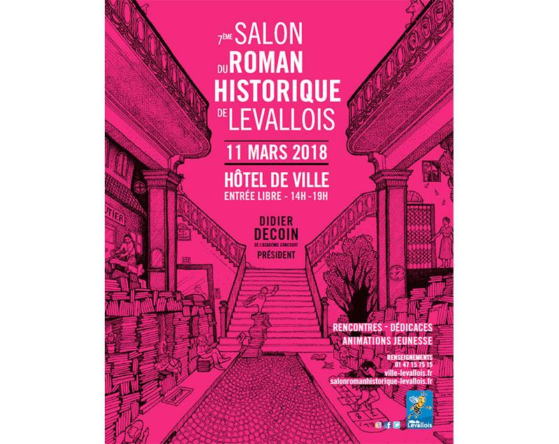 Roman Historique : Salon du Roman Historique de Levallois