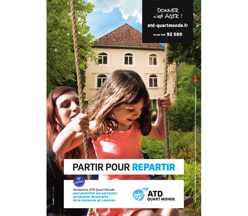 ATD Quart Monde : Partir pour repartir