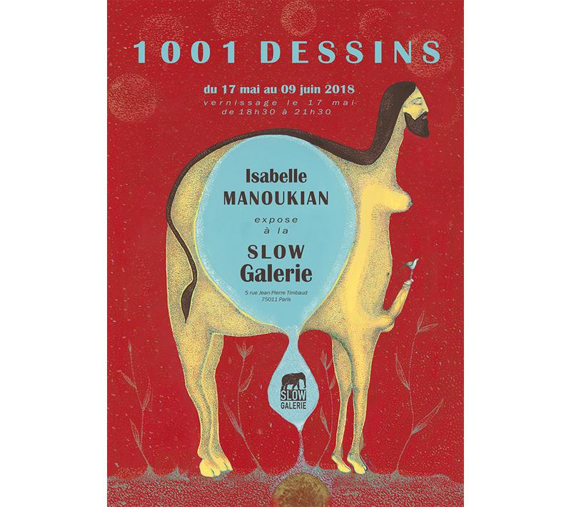 Isabelle Manoukian : 1001 Dessins