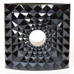 Mario Botta Vase Géo, édition d'art 2016 - Cristal moulé à cire perdue, édition limitée à 8 exemplaires