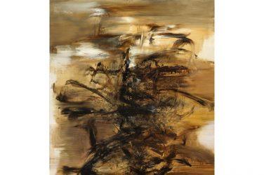 Zao Wou Ki : 29.01.64 Huile sur toile 260 x 200 cm. Peint en 1964