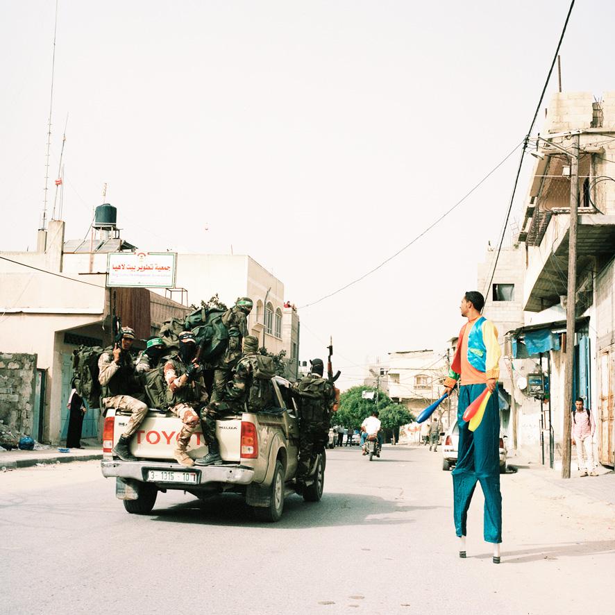 Johanna-Maria Fritz : Saltimbanques au Moyen Orient