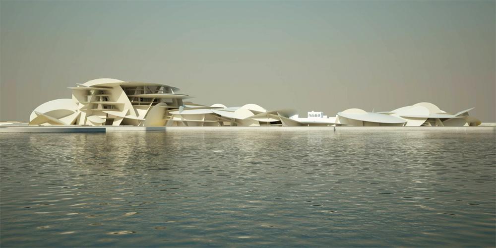 Quatar : Musée National du Qatar