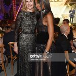 Whitney Wolfe et Naomi Campbell