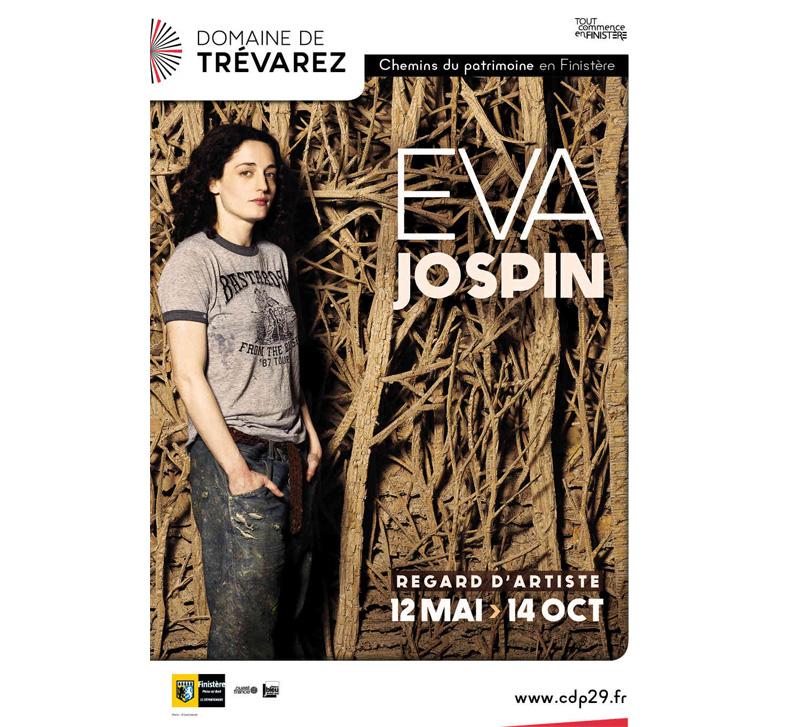 Eva Jospin installe trois œuvres à Trévarez