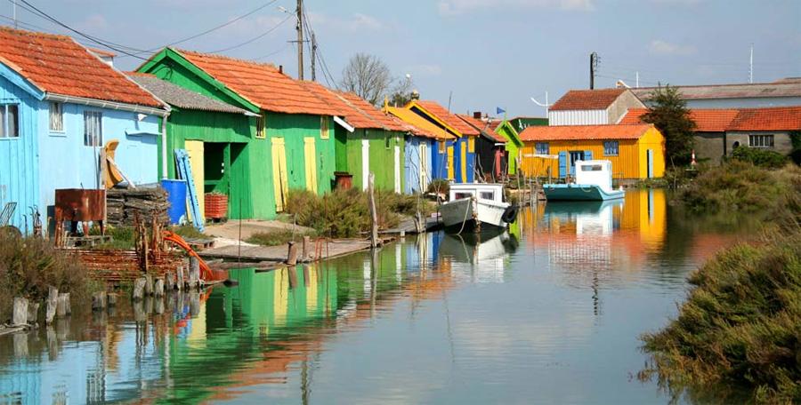 île d'Oléron et le Bassin de Marennes