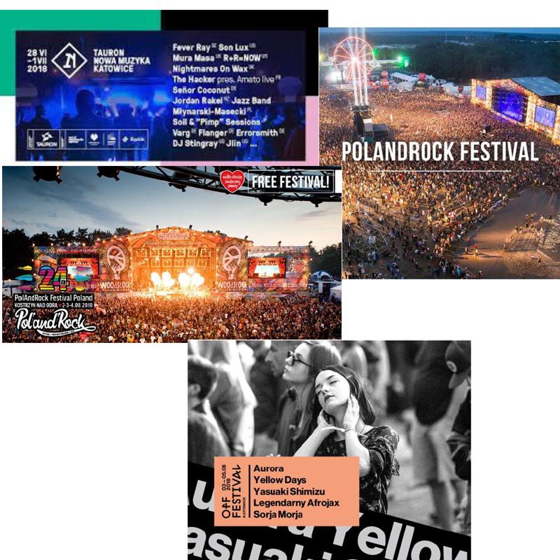 Pologne : Ses festivals estivaux