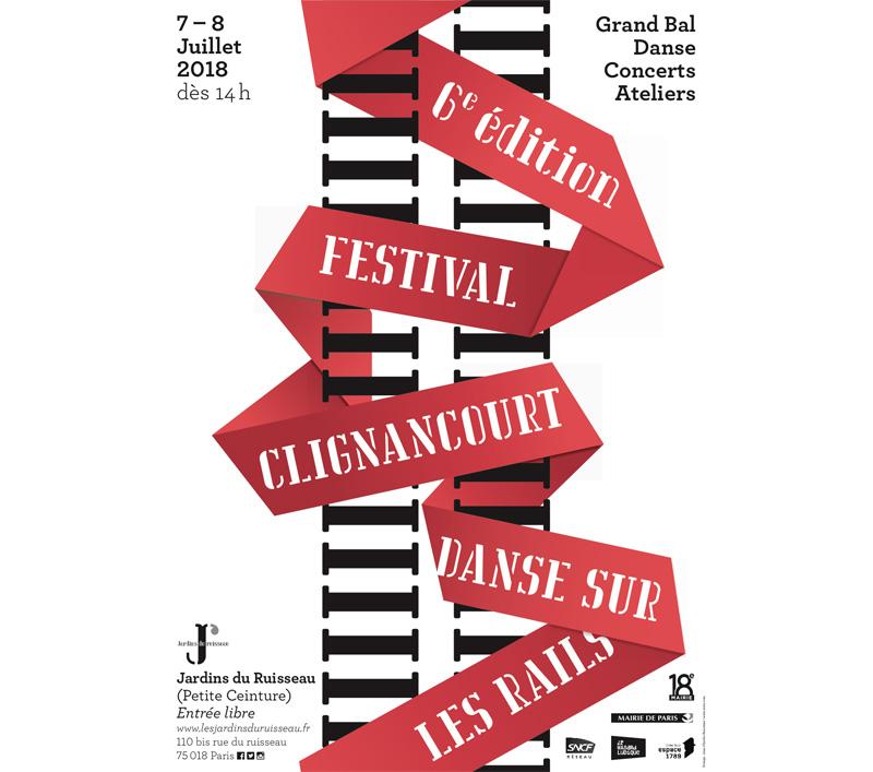 Festival Clignancourt Danse sur les Rails 2018