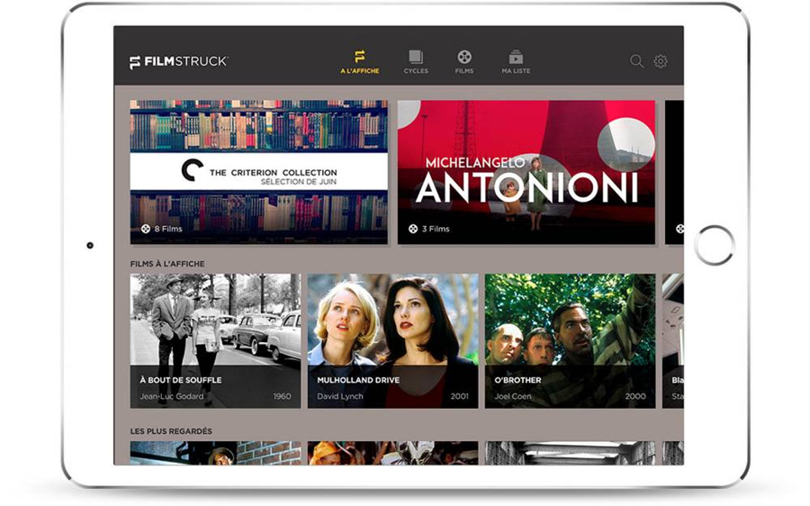 filmstruck le service de streaming