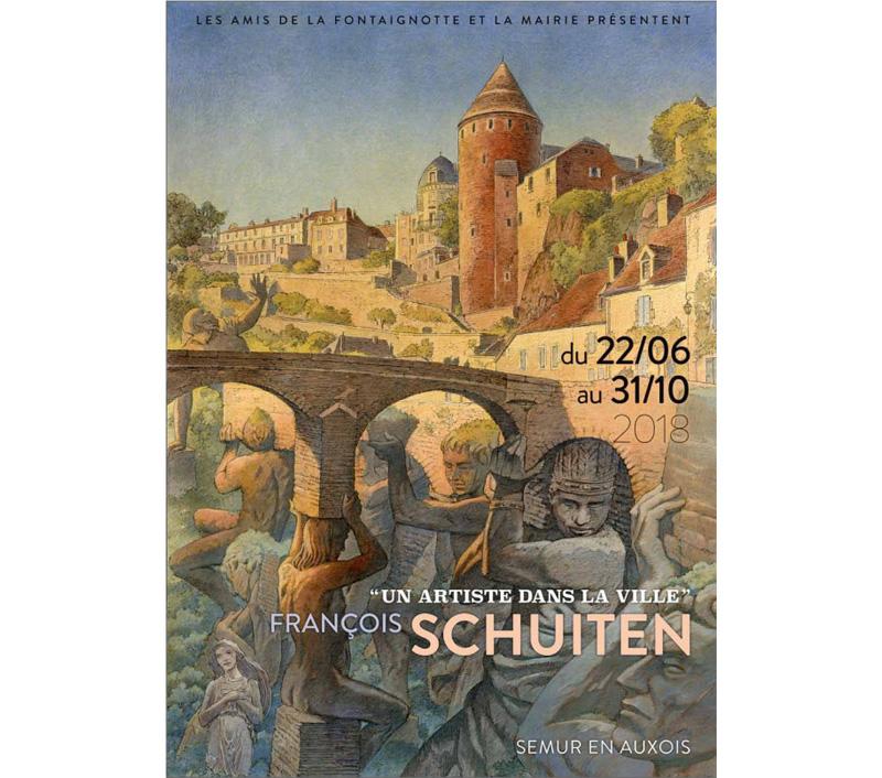 François Schuiten : Un artiste dans la ville en Semur-en-Auxois