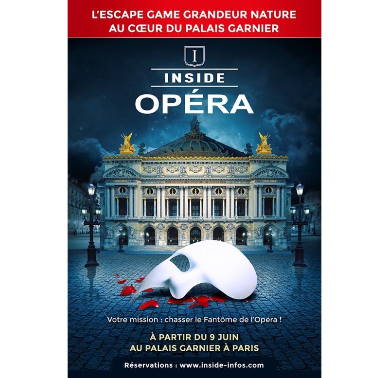 Inside Opéra au Plais Garnier