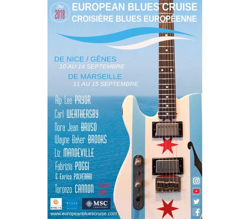 Croisière Blues Européenne 2018