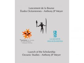 Anthony Meyer : Bourse d'Etudes Océaniennes