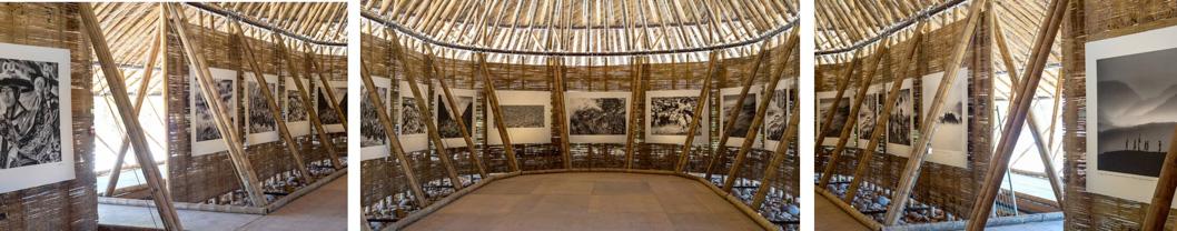 le pavillon tient son origine des malocas amérindiennes