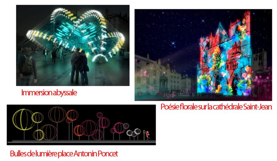 Fête des Lumières : Lyon 2018