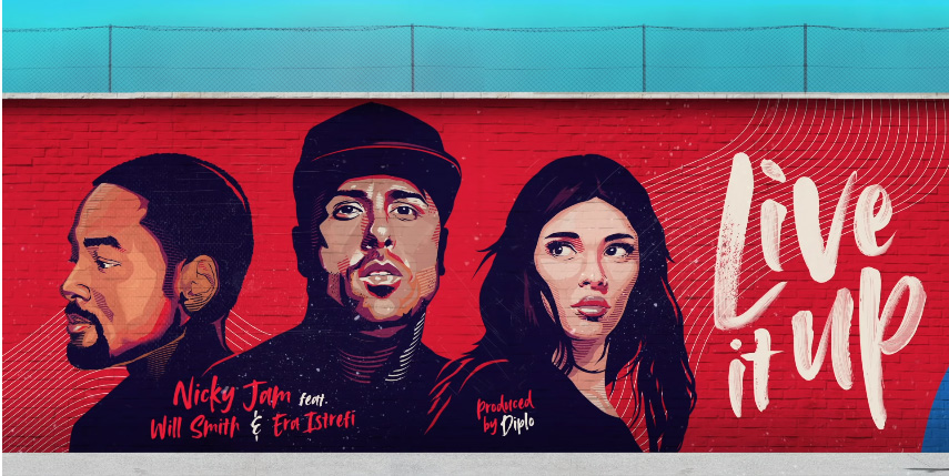 Live It Up : Will Smith, Nicky Jam, Era Istrefi