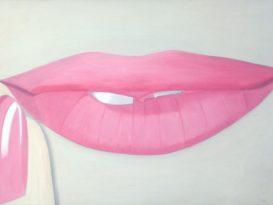 Peter Stämpfli : Pink 1963 - 194 x 107 cm - Huile sur toile