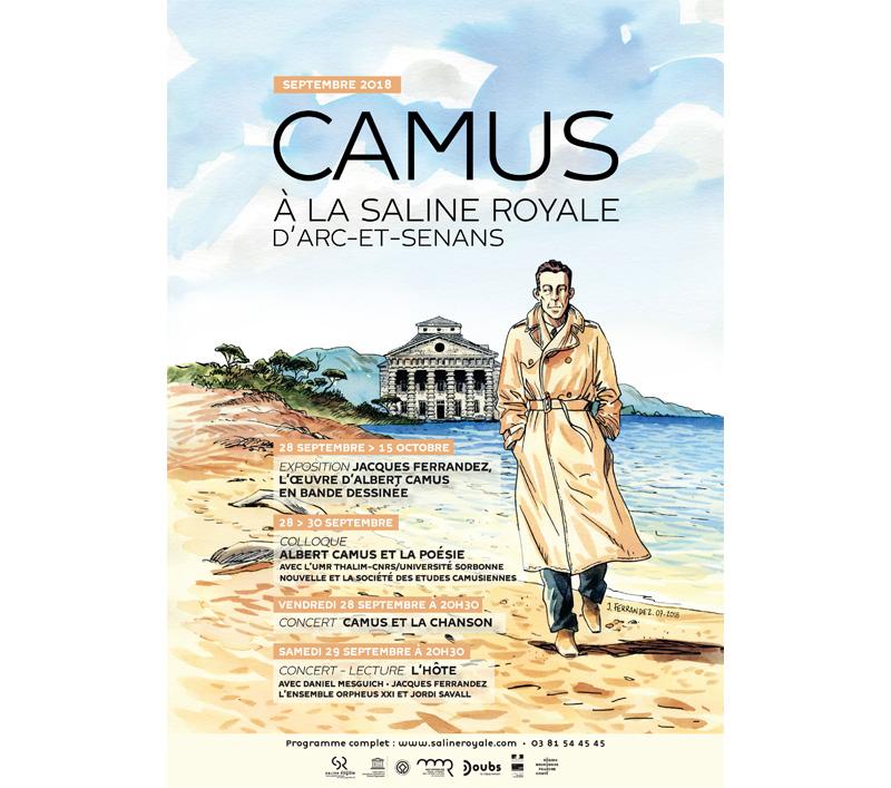 Albert Camus : Colloque international 'Camus et la poésie' à la Saline Royale