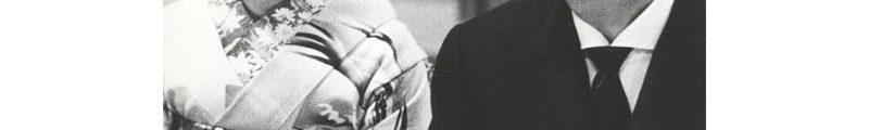 Yves Saint Laurent en compagnie d'une courtisane