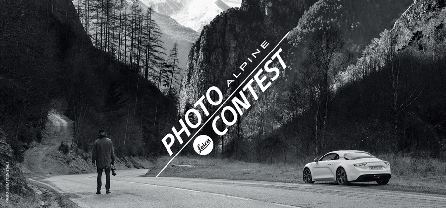 Alpine et Leica : Hit the Road
