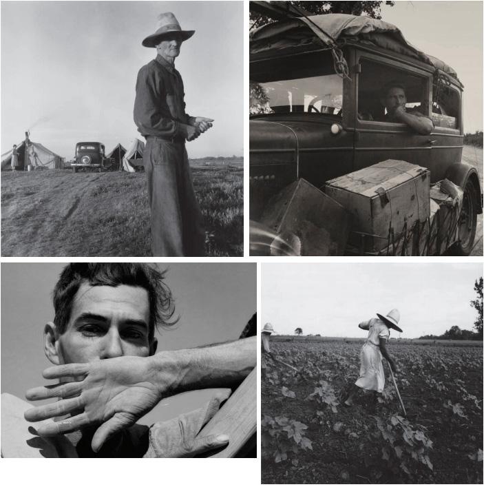 Dorothea Lange au Jeu de Päume
