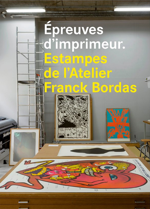 Franck Bordas à la BNF