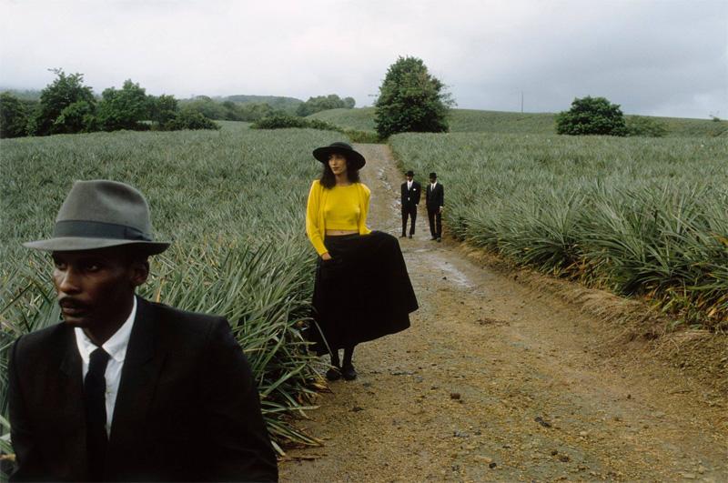 Françoise Huguier, Retour d'enterrement, Marie-Claire Bis, Martinique, 1983