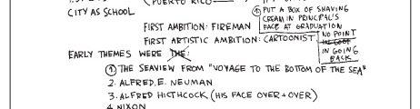Jean-Michel Basquiat Autobiographie, 1982 © The Estate of Jean-Michel Basquiat/Licensed by Artestar, New York