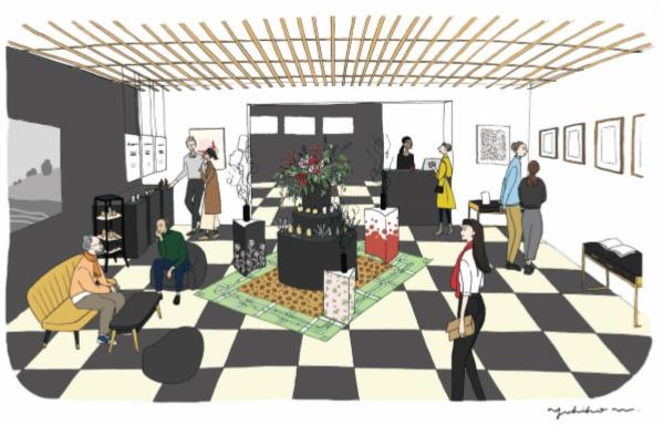 La PLACE : L'aménagement intérieur