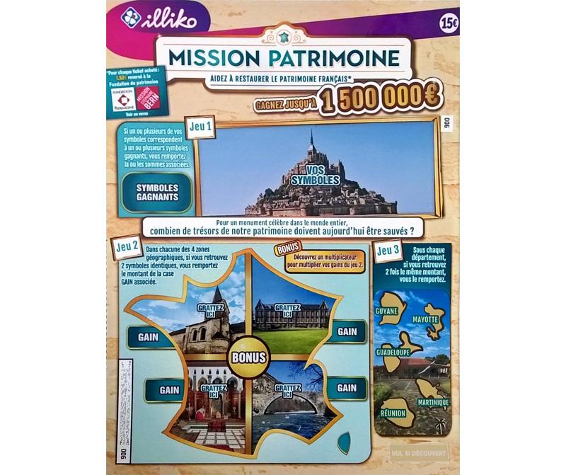 Mission Patrimoine : FDJ
