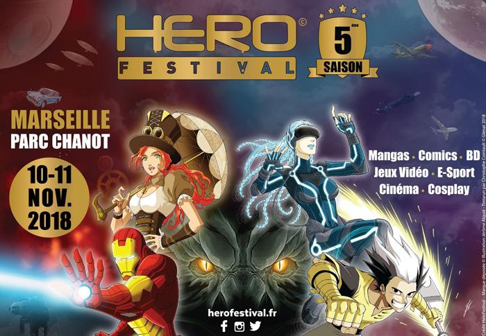 HeroFestival au Parc Chanot