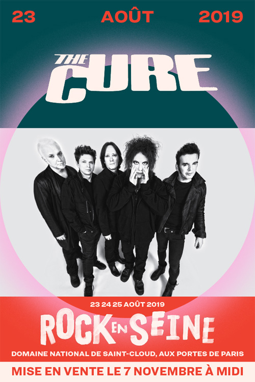 The Cure at Rock en Seine