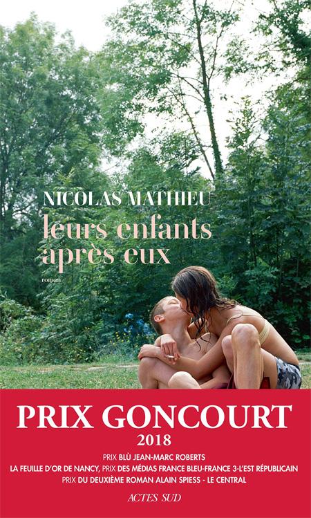 Nicolas Mathieu : Goncourt 2018