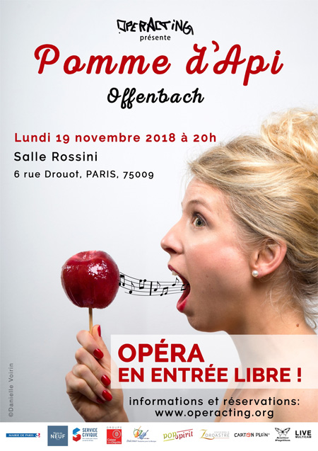 Opéracting : Pomme d'Api de Jacques Offenbach