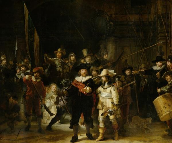 Rembrandt van Rijn et Saskia Uylenburgh