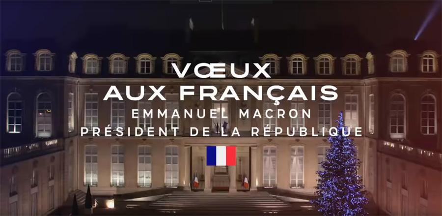 Emmanuel Macron - Voeux 2019