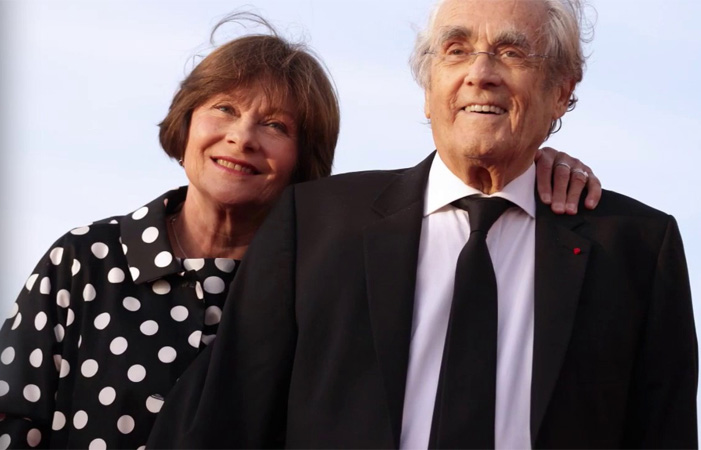 Michel Legrand et Macha Méril