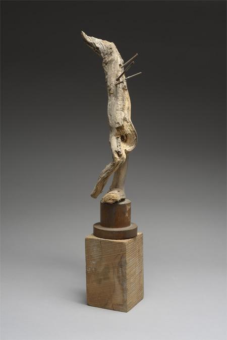 Robert Couturier - Saint-Sébastien, 1999 Technique mixte - Pièce unique - 32 x 6 x 6 cm