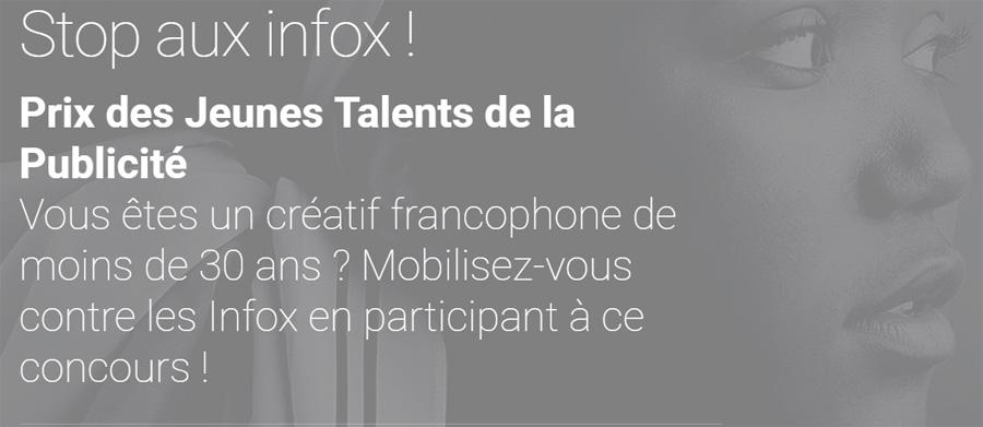 infox : Jeunes Talents de la Publicité