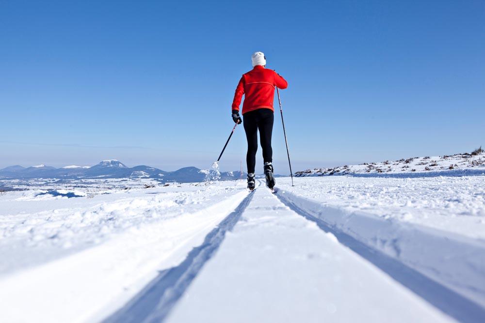 Ski de fond, Domaine Nordique de Pessade (63)