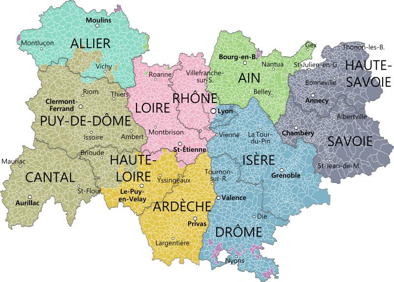 Auvergne- Rhône-Alpes