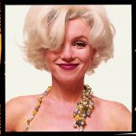 Marilyn Monro - Bert Stern Estate Portrait with beads