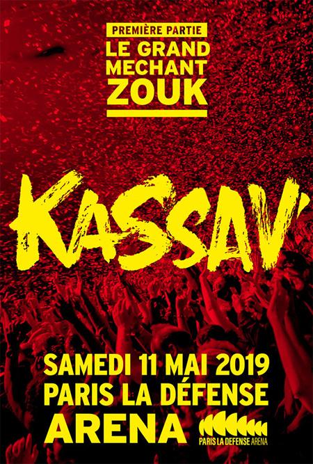 Kassav à Paris La Défense Aréna