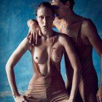 Anna Cleveland& Germain Louvet
