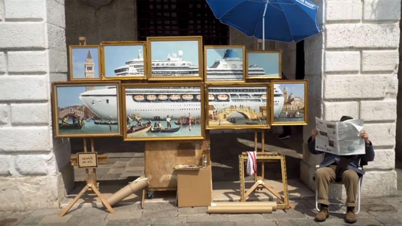 Bansky à Venise