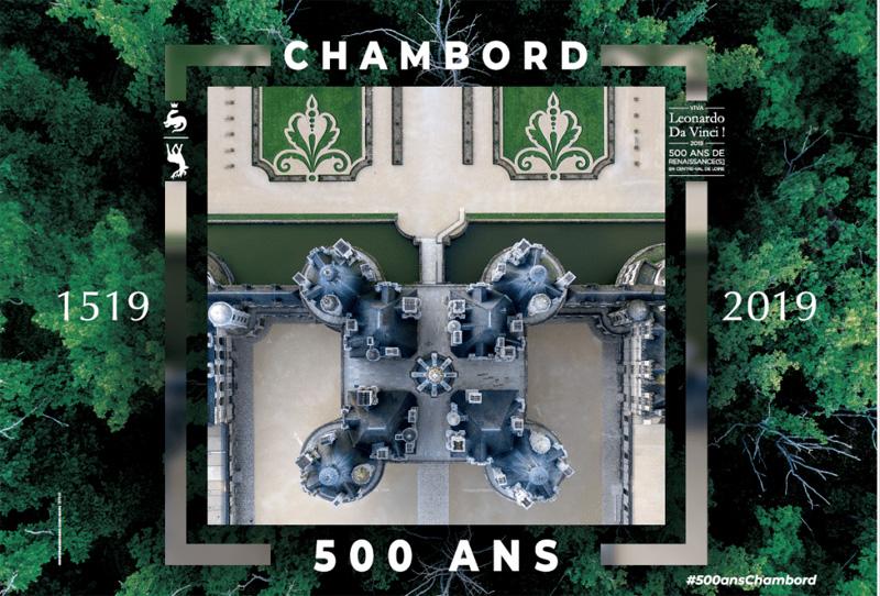Chambord : 1519- 2019