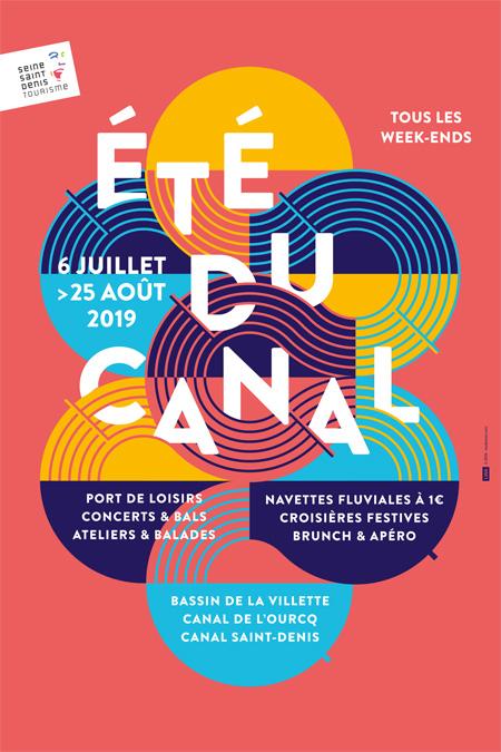 L'Été du Canal : Tous les week-ends du 6 juillet au 25 août 2019